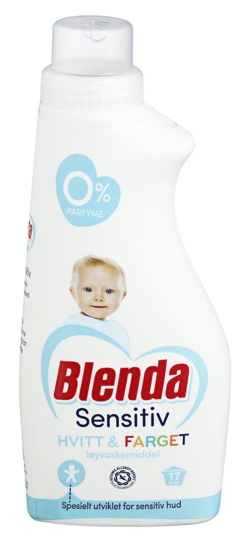 Blenda Sensitive Tøyvaskemiddel Flytende, 595 ml