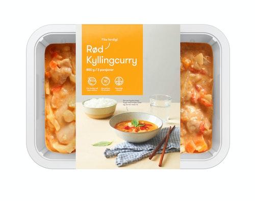 Oda Kylling Rød Curry Fiks ferdig, 2 Porsjoner, 800 g