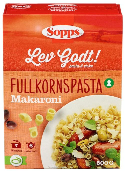 Sopps Makaroni Fullkorn 500 g