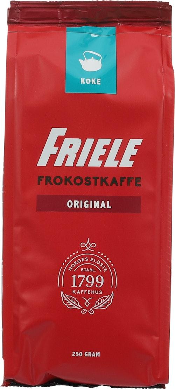 Friele Frokostkaffe Kokmalt, 250 g