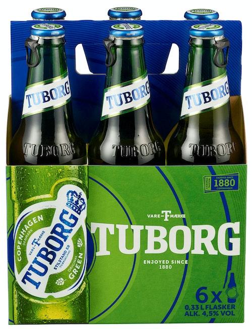 Tuborg Tuborg 3G 6 x 0,33l, 1,98 l