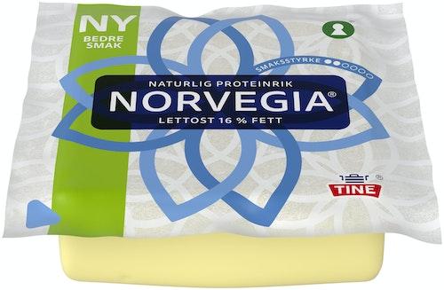 Tine Norvegia Lettere Skorpefri, ca. 500 g