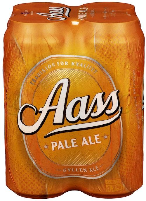 Aass Bryggeri Aass Pale Ale 4x0,5l, 2 l