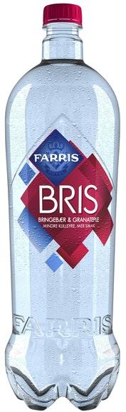 Ringnes Farris BRIS Bringebær & Granateple, 1,5 l