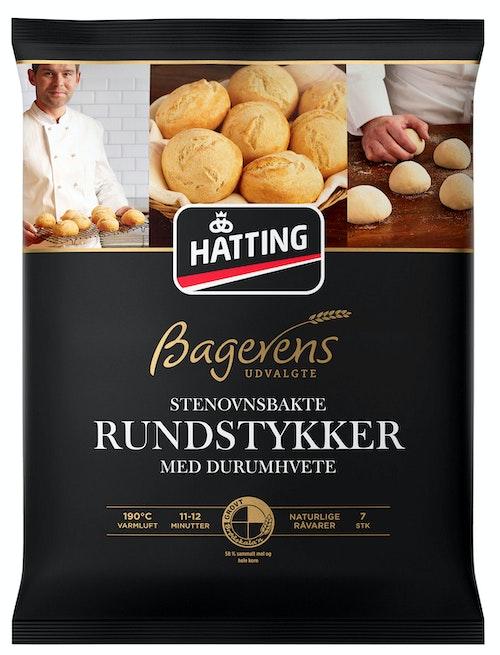Hatting Stenovnsbakt Rundstykker 7 stk, 420 g
