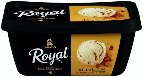 Kjop Diplom Is Royal Creme Brulee 0 9 L Kolonial No