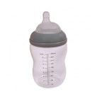 Tåteflaske med silikontopp
