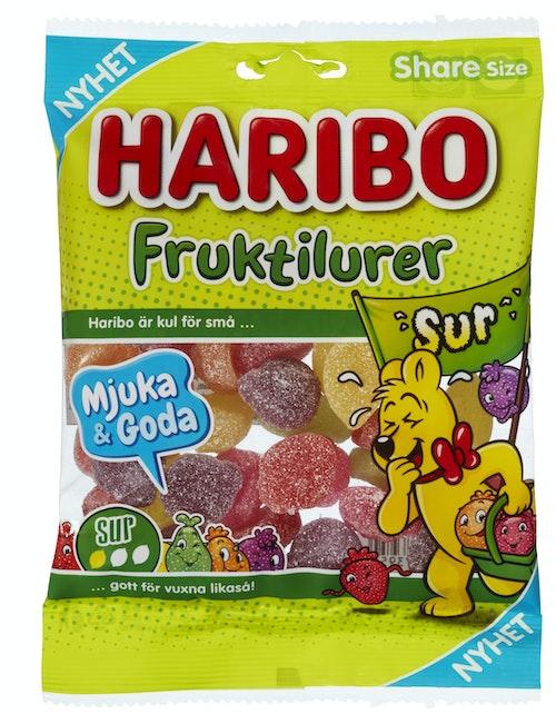 Haribo Fruktilurer Sur 170 g