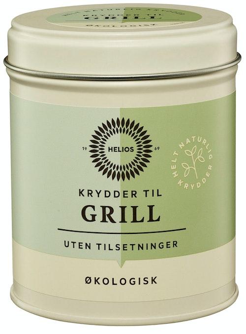 Helios Grillkrydder Økologisk, 95 g