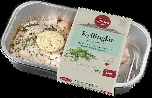 Stanges Gårdsprodukter Kyllinglår med Smør Rett i Ovnen, 260 g