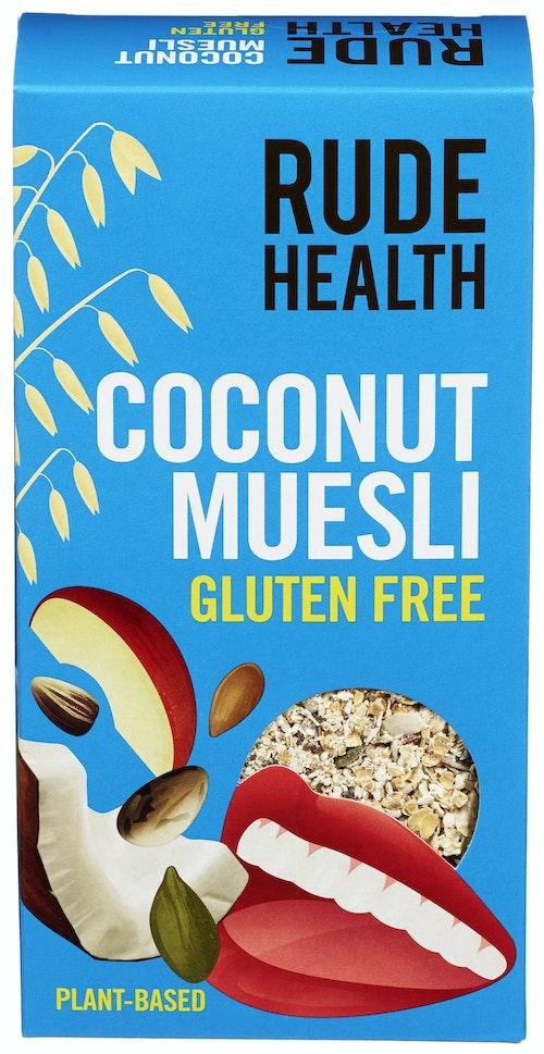 Rude Health Coconut & Seed Muesli Glutenfri, 400 g