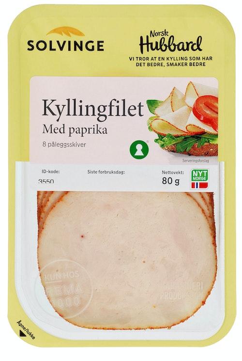 Solvinge Kyllingfilet med Paprika 80 g