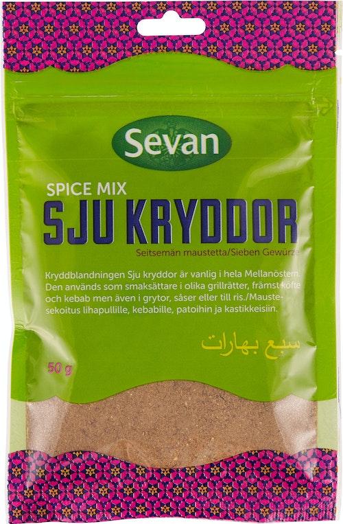 Sevan Sju Krydder 50 g