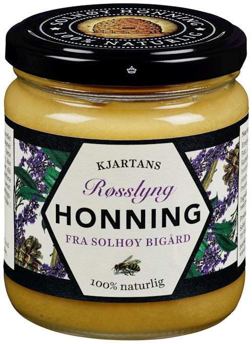 Kjartans Honning Lynghonning Kraftig 350 g