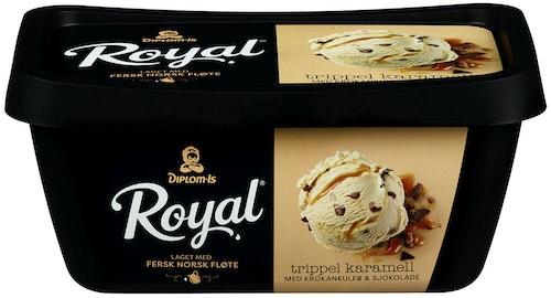 Diplom-Is Royal Trippel Karamell 0,9 l