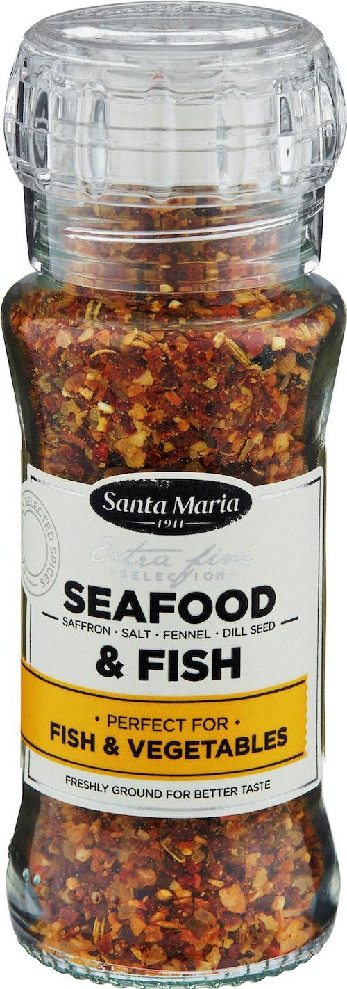 Santa Maria Seafood & Fish Premium Med kvern, 90 g