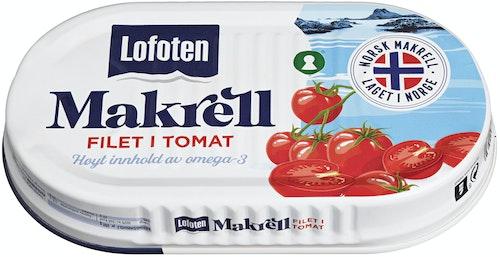 Lofoten Makrell i Tomat Original 170 g