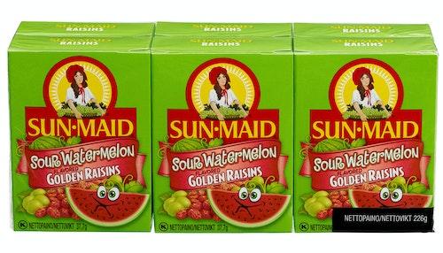 Sun·Maid Rosiner Sour Watermelon 6 x 37,7g, 226,2 g