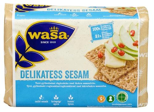 Wasa Knekkebrød Delikatess Sesam 285 g
