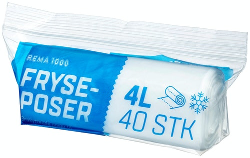Soft Style Frysepose 4l, 40 stk
