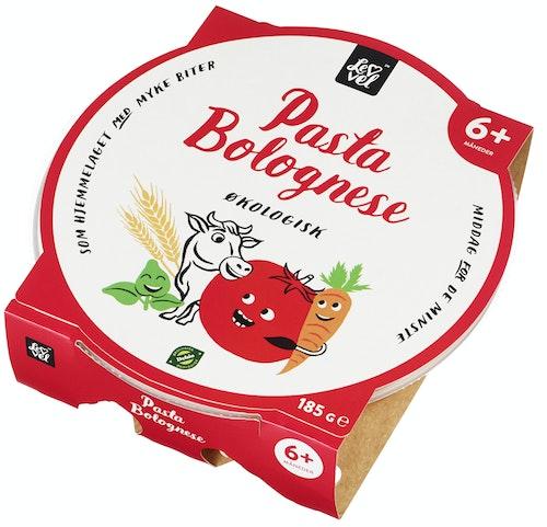 Lev Vel Pasta Bolognese fra 6 mnd økologisk, 185 g