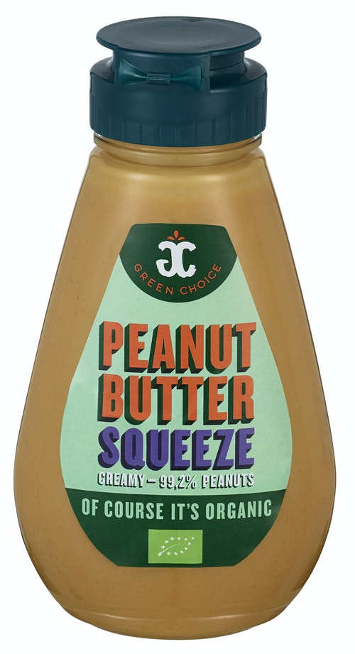 Greenchoice Peanut Butter Squeeze økologisk, 250 g