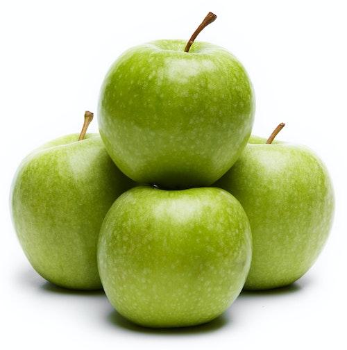 Epler, grønne, 4 pk Granny Smith, Italia, 750 g