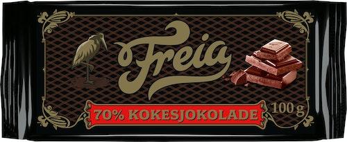 Freia Kokesjokolade 70% Kakao 100 g