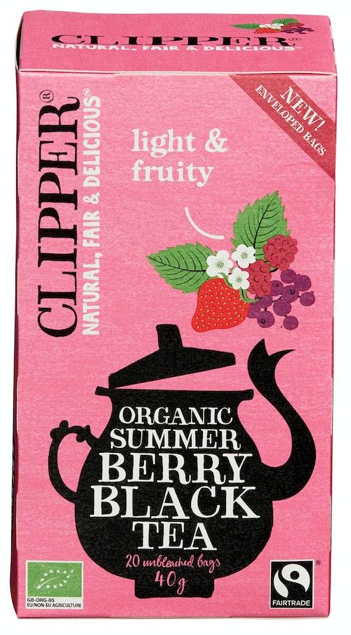Clipper Te Summer Berry Økologisk, 20 stk