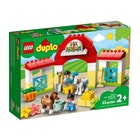 LEGO DUPLO Stall med ponni