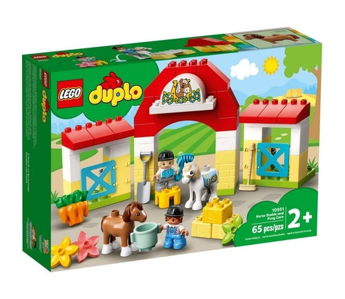LEGO LEGO DUPLO Stall med ponni 1 stk