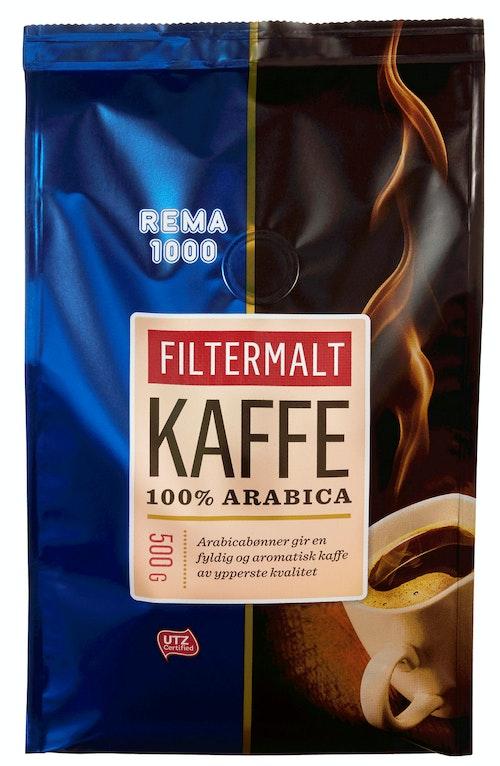REMA 1000 Kaffe, Filtermalt 500 g