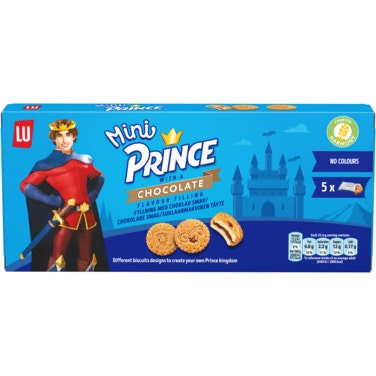 LU Prince Mini Sjokoladekjeks 178 g