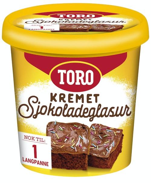 Toro Kremet Sjokoladeglasur 340 g