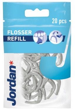 Jordan Easy Clean Flosser Refill Assortert variant, 20 stk