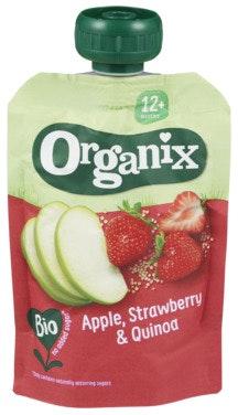 Semper Organix Eple, Jordbær & Quinoa 12 mnd, 100 g