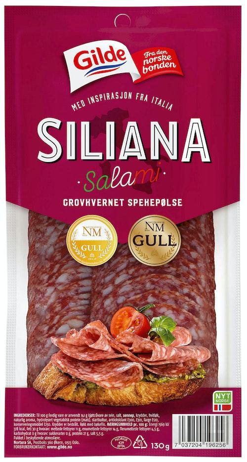 Gilde Salami Siliana Skivet 130 g