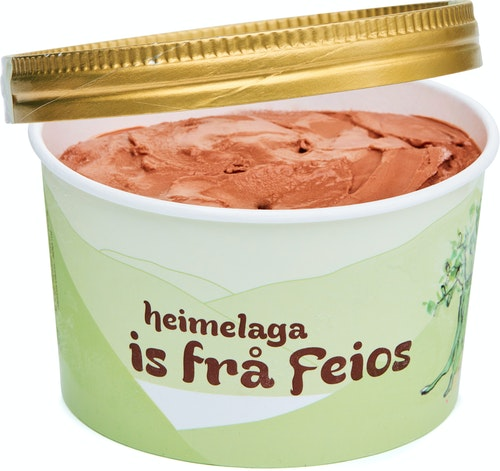 Alm Gard Iskrem Økologisk Sjokolade Fløteis 500 ml