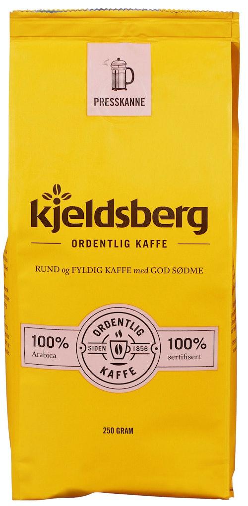 Kjeldsberg Kaffebrenneri Original Kaffe Presskanne 250 g