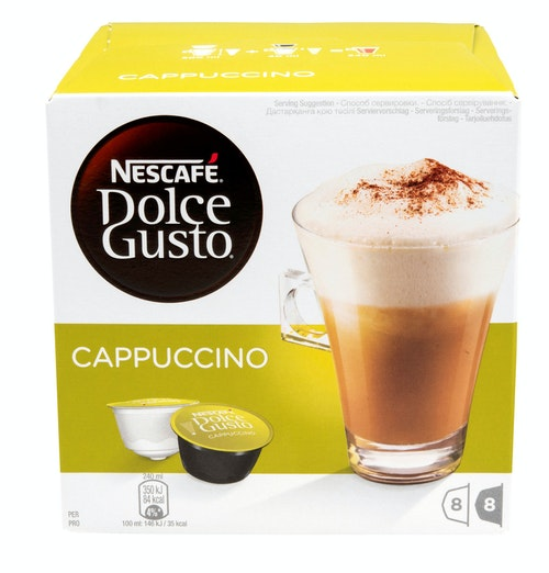 Dolce Gusto Dolce Gusto Cappuccino 8+8 kapsler, 16 stk