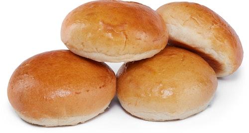Brødverket Brioche Hamburgerbrød 4 stk