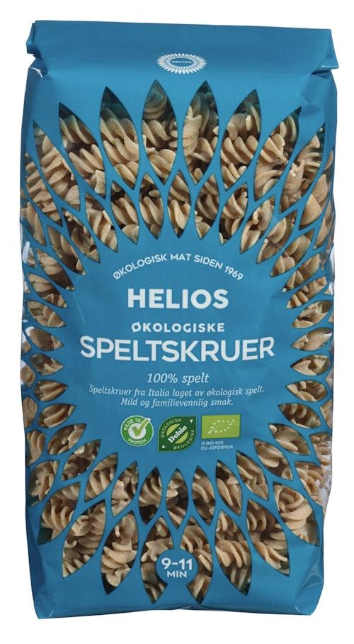 Helios Pasta Speltskruer Økologisk, 500 g