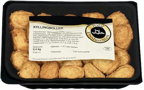 Kyllingkjøttboller Halal, 400 g