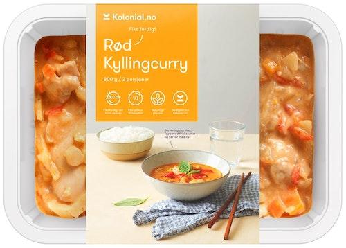 Kolonial.no Kylling Rød Curry Fiks ferdig, 2 Porsjoner, 800 g
