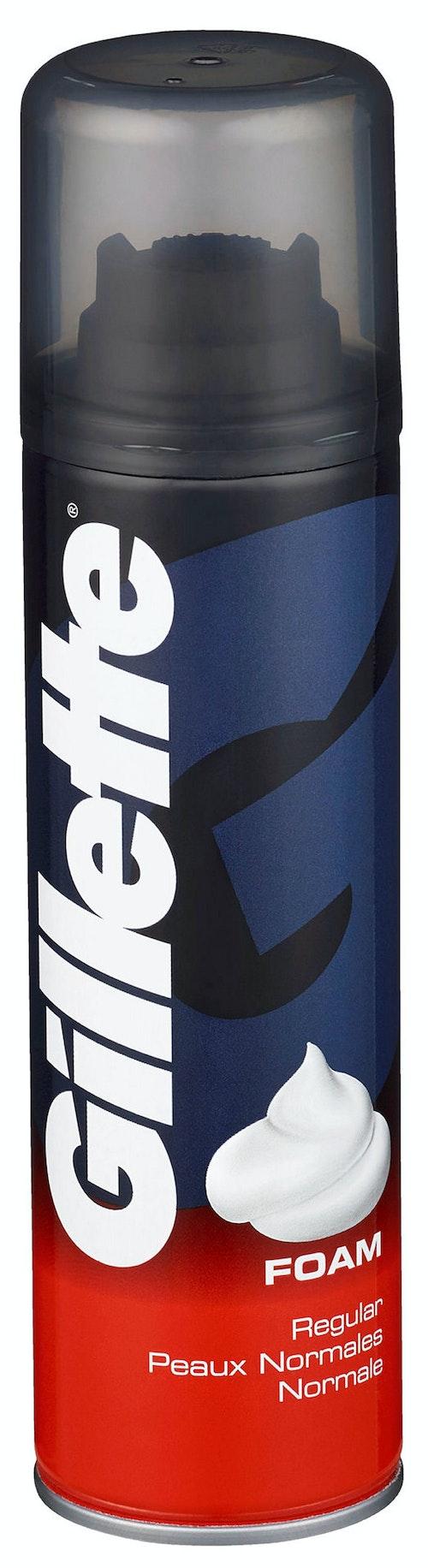 Gillette Barberskum Regular Skum 200 ml
