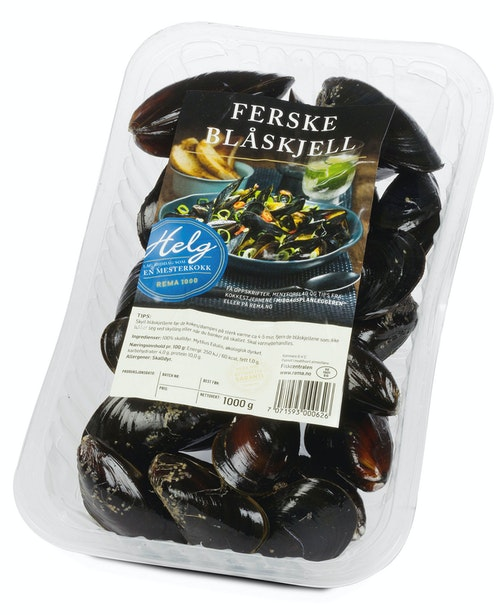 Fiskcentralen Blåskjell 1 kg