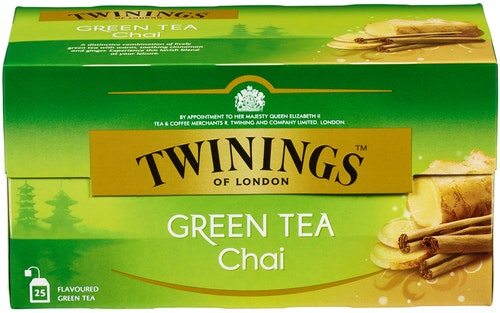 Twinings Grønn Te Chai 25 stk