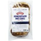 Fiskeburger Med Chili 70%