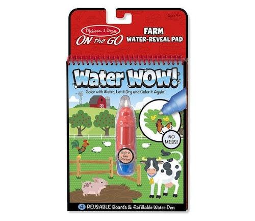 Melissa & Dough Water Wow farm - magisk fargelegging med vann 1 stk