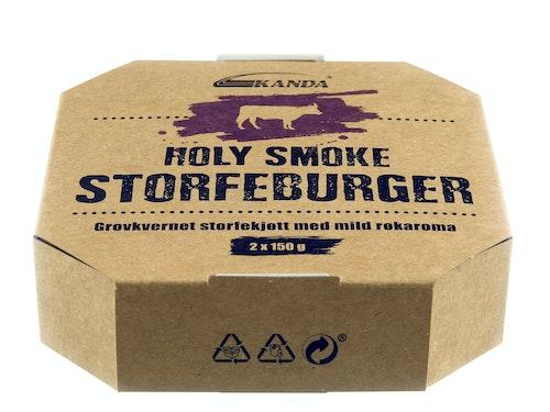 Kanda Holy Smoke Storfeburger 2 Stk, 300 g